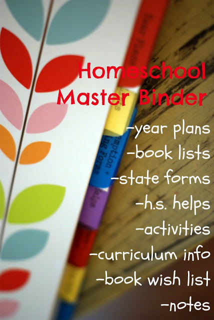 How to create a homeschool binder to keep your homeschool records straight.