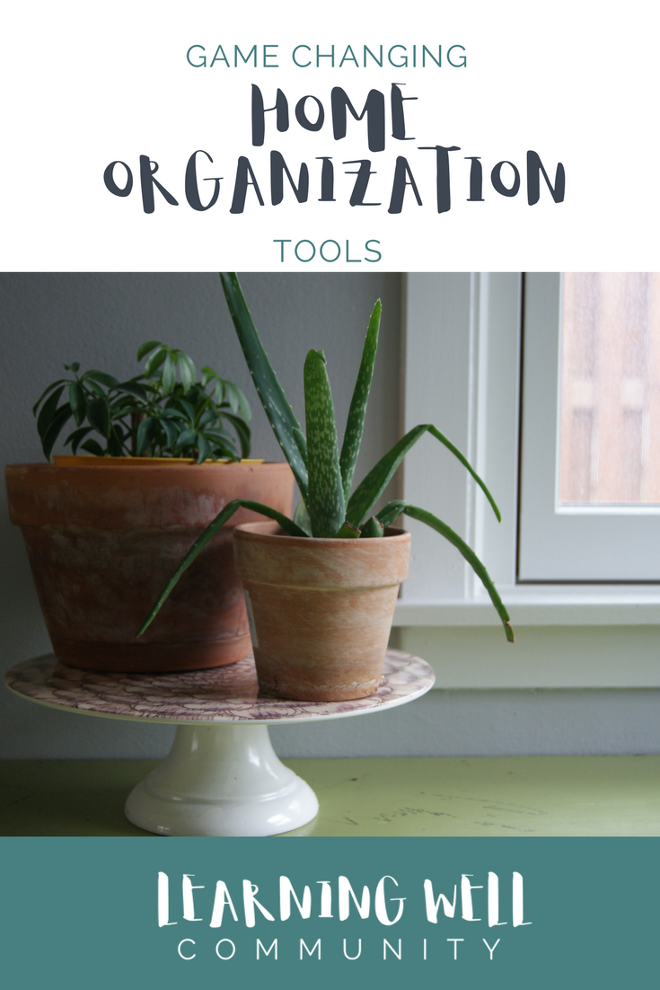 Game changing tools for home organization