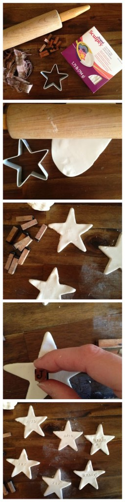 Clay Christmas Ornaments, a really quick and easy way to add a handmade touch to gifts or to give a whole set to a friend for Christmas.