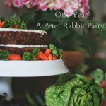 One Year: A Peter Rabbit Party