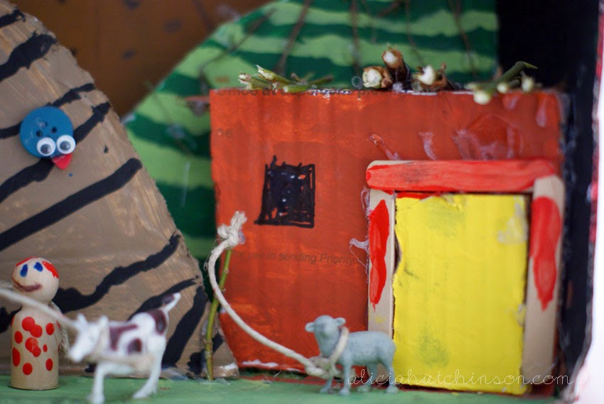 Dioramas are great way learning tool. Here's is a close look at how we created Bible dioramas in our homeschool to learn more about the Bible.