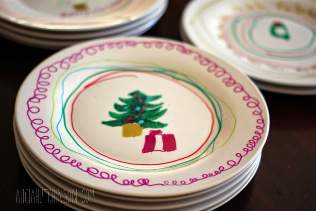 Handmade Christmas Gifts for Kids to make: Serving Planners with Sharpies.