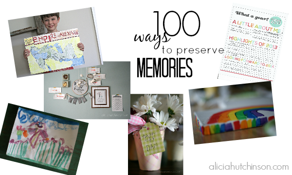 100 ways to preserve family memories