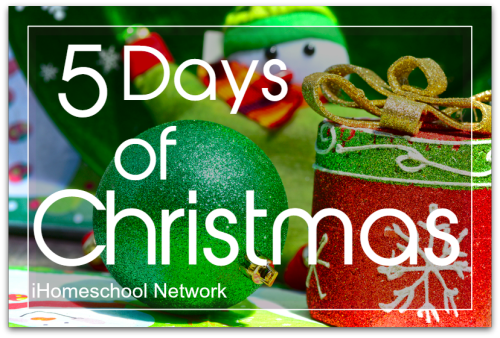 http://www.ihomeschoolnetwork.com/project/5-days-of-christmas/