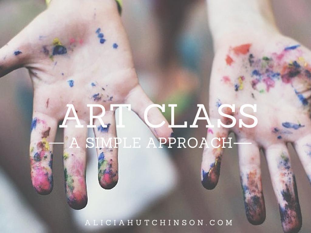 simple art class