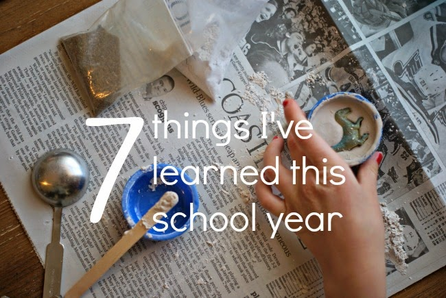 "Seven things I learned this school year...on a really ""off"" year."