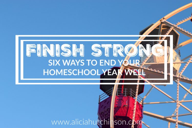 Finishing an entire school year is a big accomplishment! It should be celebrated for sure. We can start to lose steam at the end of a school year, but here's a few ways to finish it out strong!