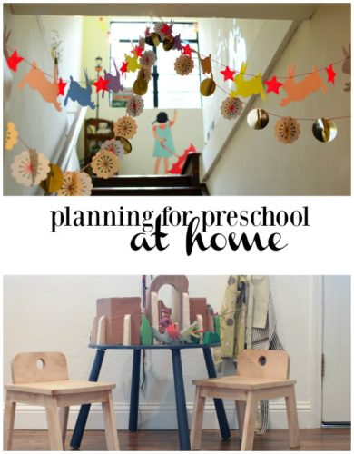 Home preschool is not my forte, but I really want it to be. This summer, I am taking some time to do some research, gather some supplies and create a great preschool at home this fall. Here's what I'm using to plan a great preschool.