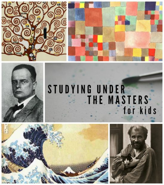 Studying under the masters for kids! An ecourse