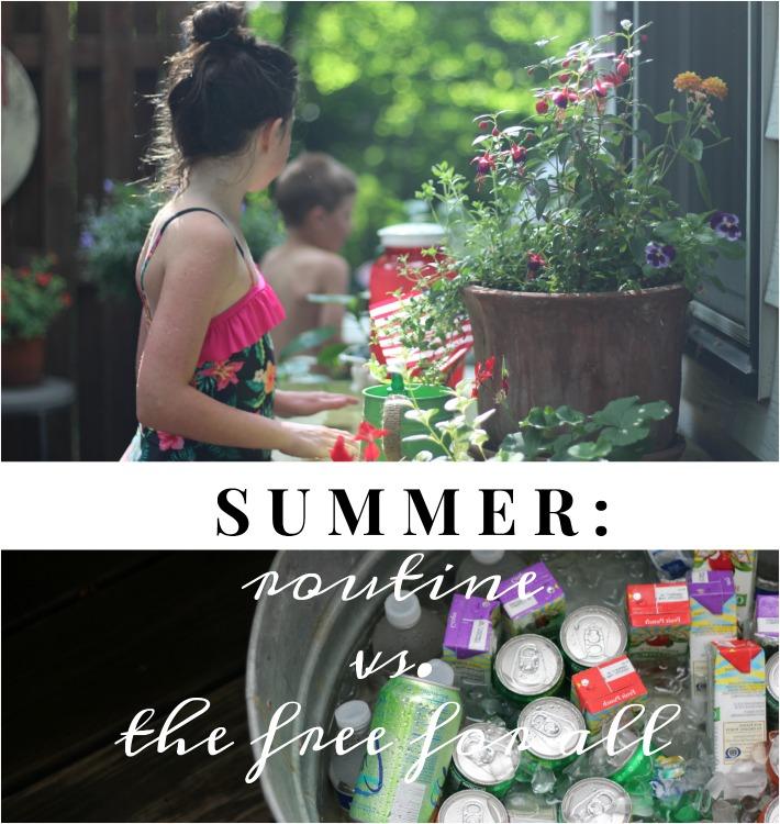summer routine
