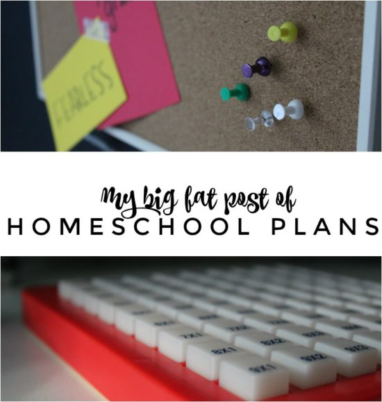 Homeschool planning is so individual but it's great to see how other people manage the chaos of planning their homeschool year. In this big ol' post of homeschool planning, I'll share what resources we'll be using this year, books we're planning on reading and how to manage changing schedules.