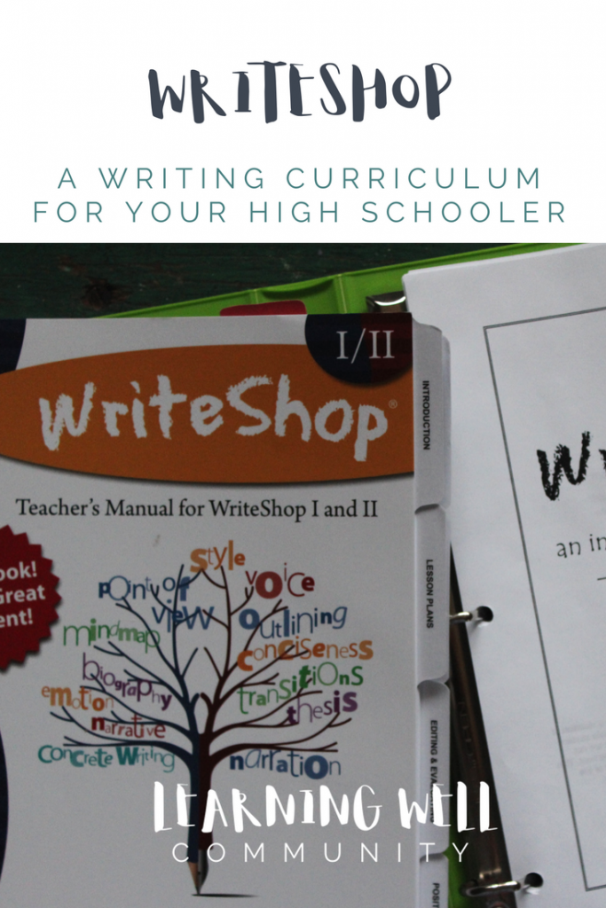 We've been using WriteShop II for our main writing curriculum for 9th grade this year. Here's my WriteShop review for you!