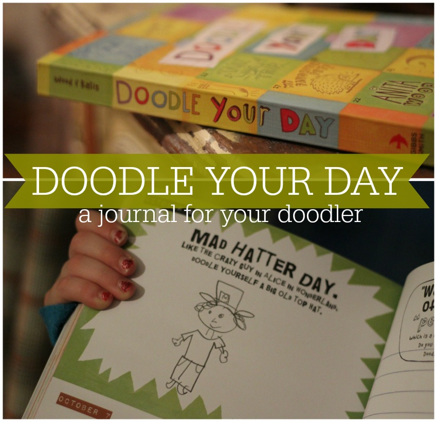 My review of the coolest doodle journal for your favorite little doodler.