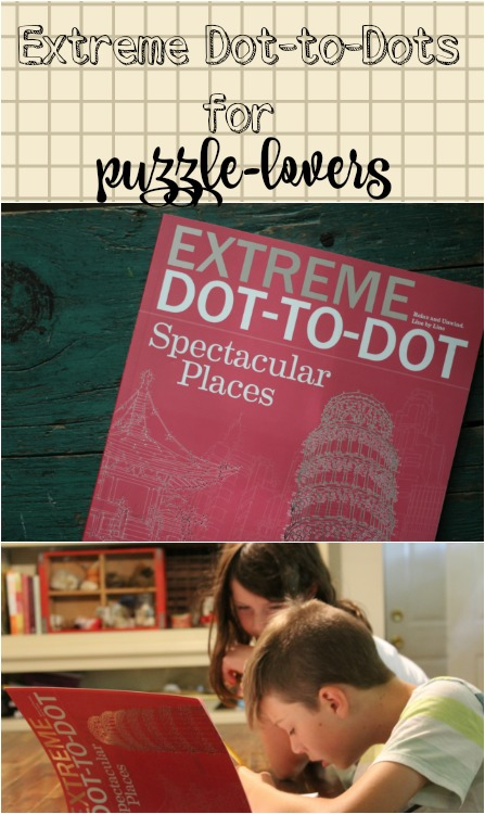 Looking for something new for your puzzle lovers? Extreme dot-to-dot puzzles are our newest favorites! Here's my full review.