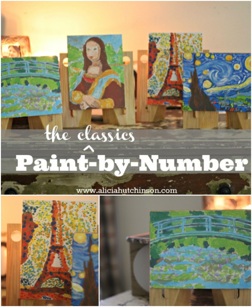 Looking for a way to inspire your not-so-artsy kids? These paint-by-number kids are awesome! The finished product is an amazing-looking classic painting that your child did all by themselves. SO rewarding for everyone!