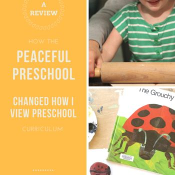 Curriculum for your preschoolers--my full review.