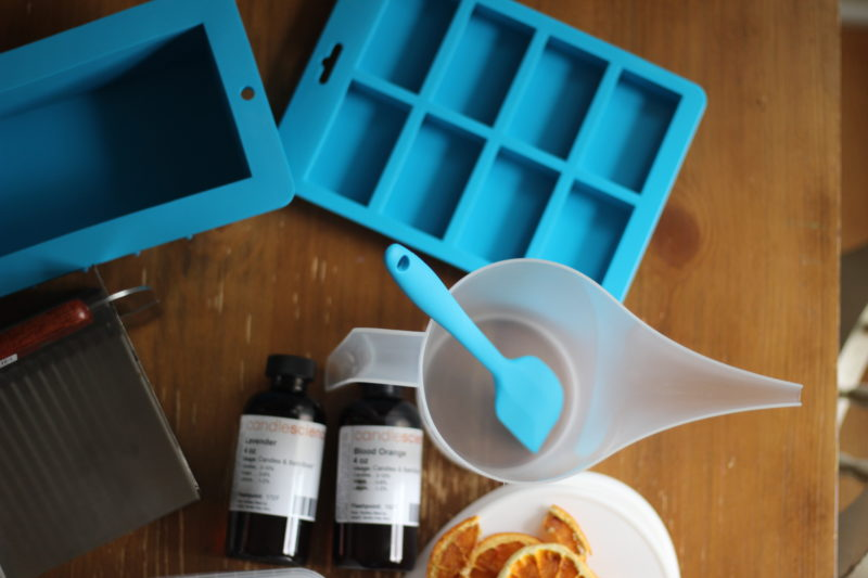 How to make handmade soap with kids.