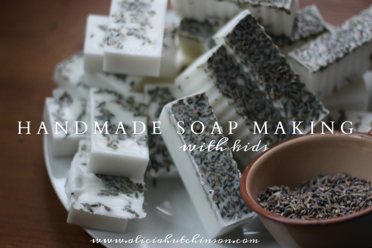 We finally tried our hand at handmade soap with the kids. It was so fun and fast and easy! Here's the full tutorial.