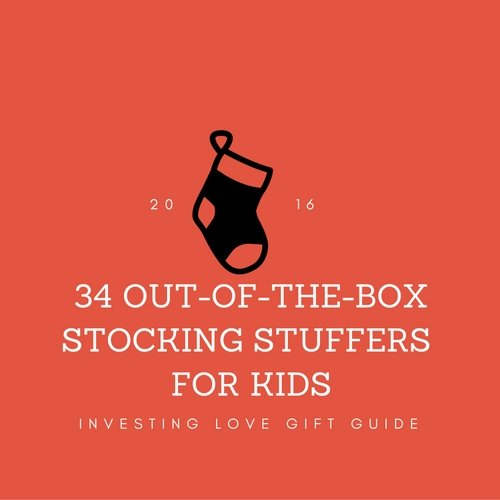 My favorite Christmas gifts to give are unique stocking stuffers. I love finding unique, out-of-the-box items for my kids. Here's my LONG list of favorites.