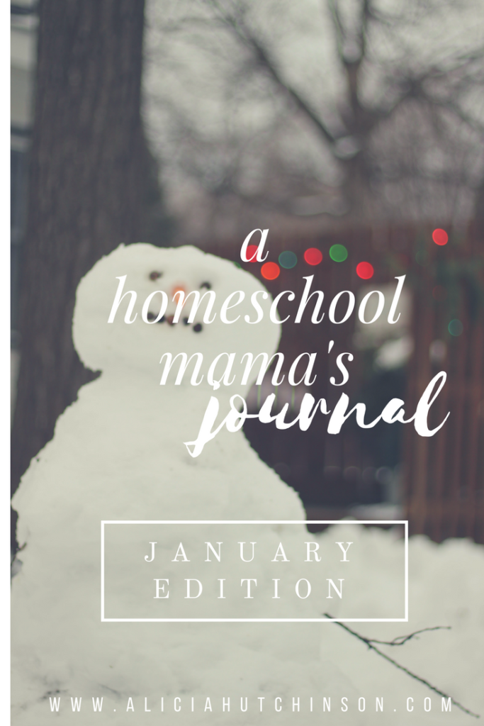 Ever wish you could peek into a homeschool mama's journal? Here's a few pages from mine.