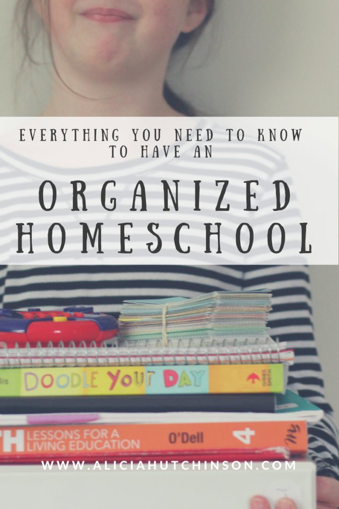 Having an organized homeschool doesn't have to be rocket science. It should be simple. And it should work for YOU! Here's everything you need to get you started on an organized homeschool.