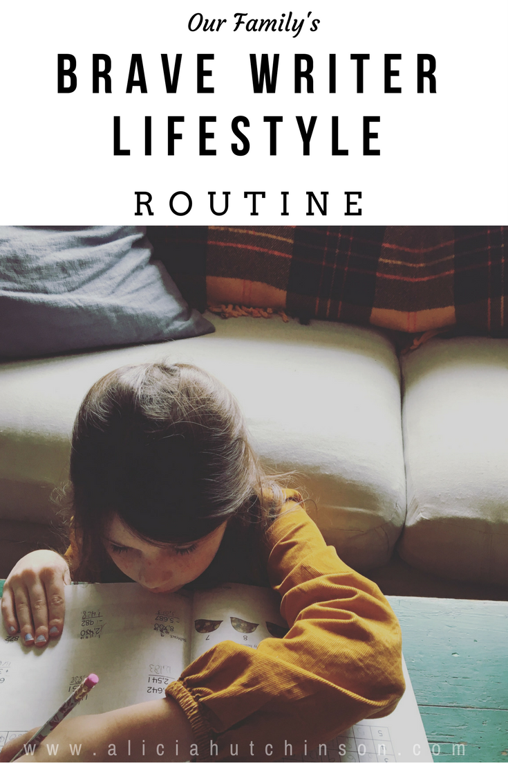 Developing a Brave Writer routine changed our homeschool immensely. Discovering the Brave Writer lifestyle was even better! Here's what Brave Writer looks like in our homeschool.