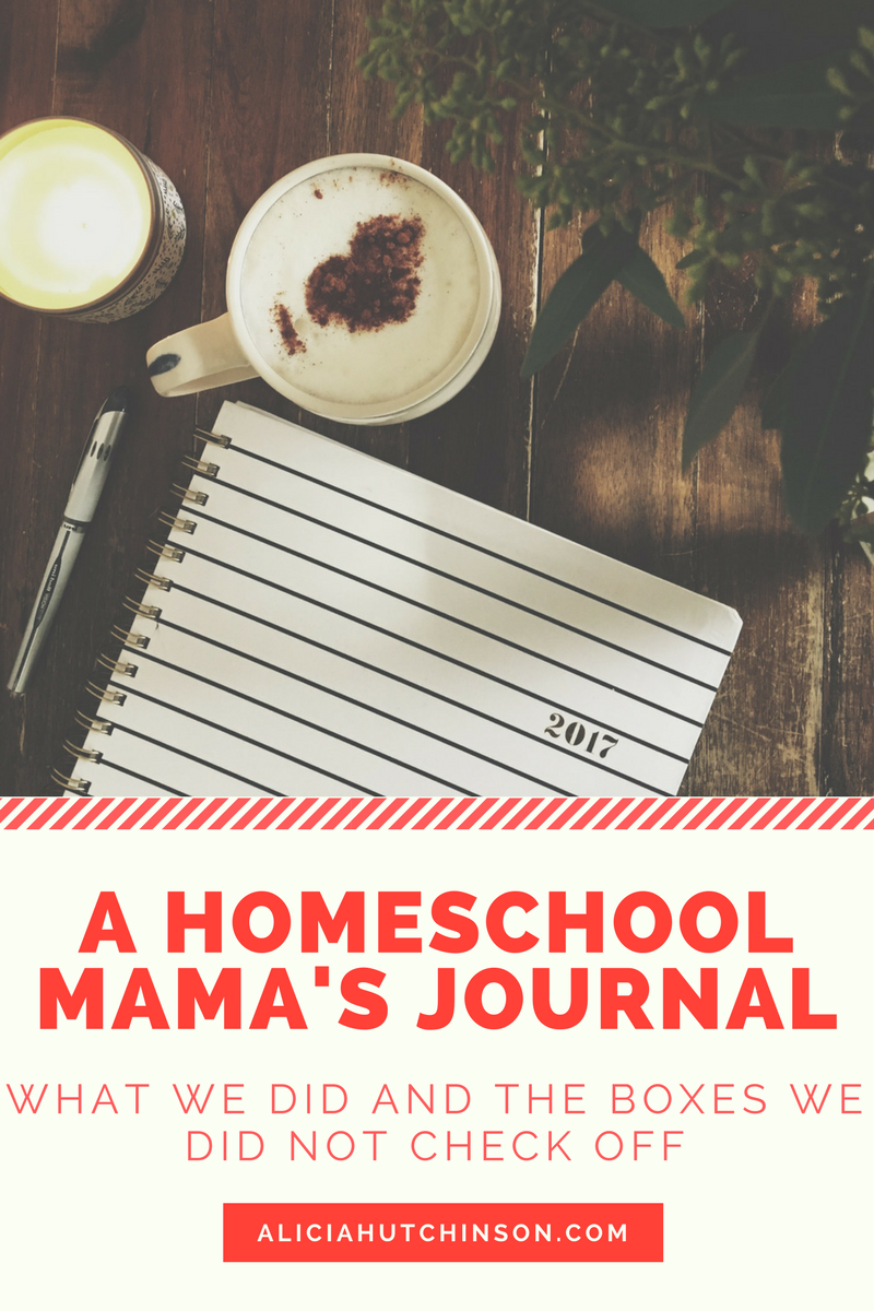 A Homeschool Mama's Journal.