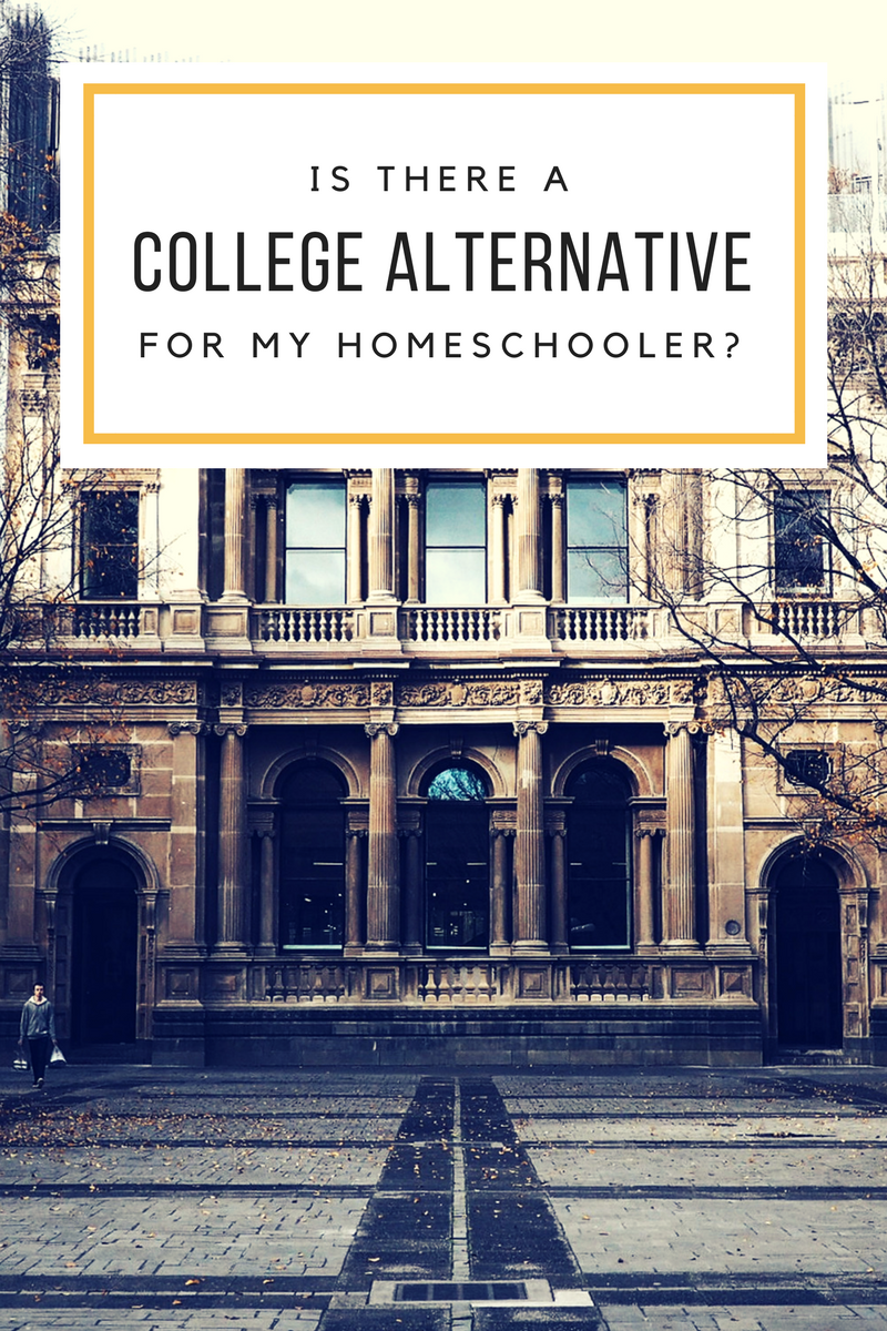 Is there a college alternative for my homeschooler?