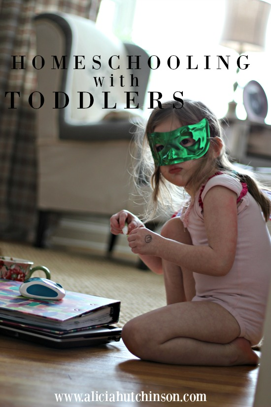 how to get organized at home with toddlers