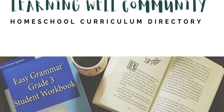 If you're looking for homeschool curriculum, check out my directory. All subjects, grades K-10 and ONLY our favorite resources.