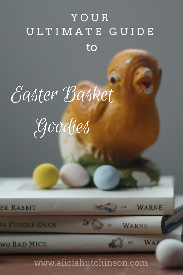 Need some Easter basket ideas that aren't junky? Here's your ultimate guide to Easter basket goodies for little kiddos all the way to your teens.