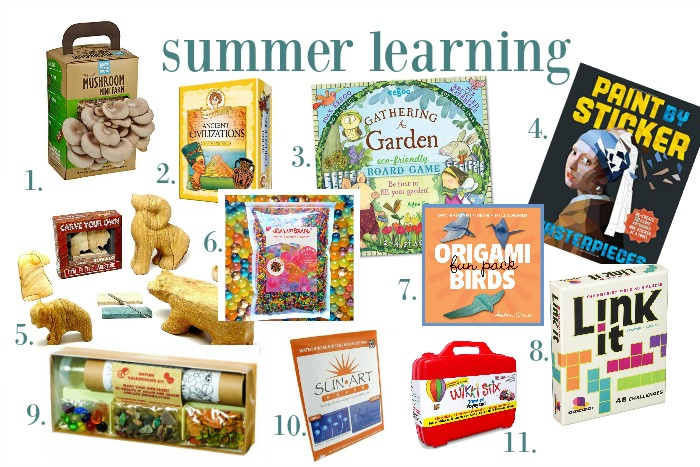 Summer fun basket: a tradition to try this year!