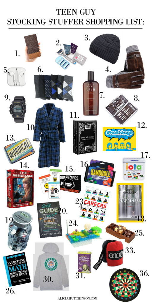 Stocking stuffers for teen boys doesn't have to be the hardest item on your gift list. Here's inside scoop from my teens for the BEST stocking stuffers.