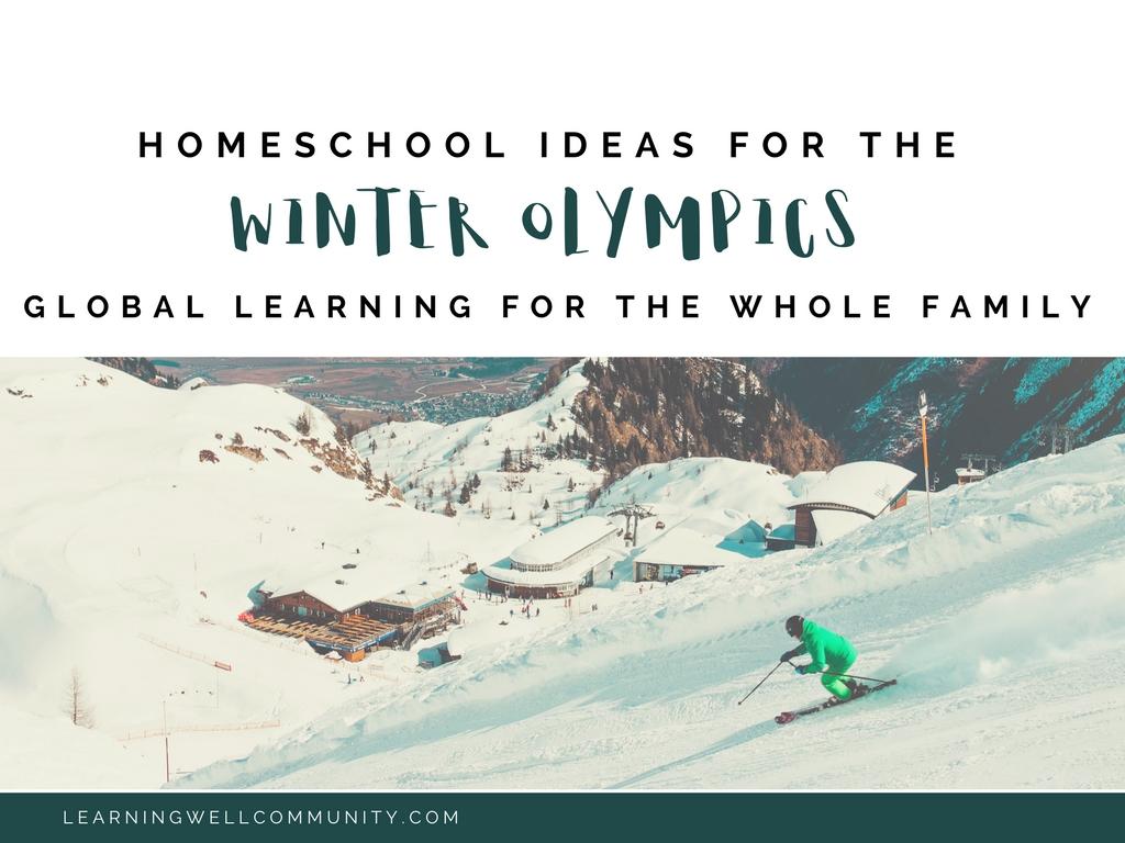 Winter Olympics homeschool ideas