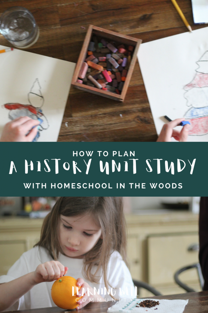 How to plan a unit study is a common questions for homeschool mamas. There is a lot of planning that goes into unit studies, but it's not too bad with the right tools. This post is all about how to plan a unit study the simple way.