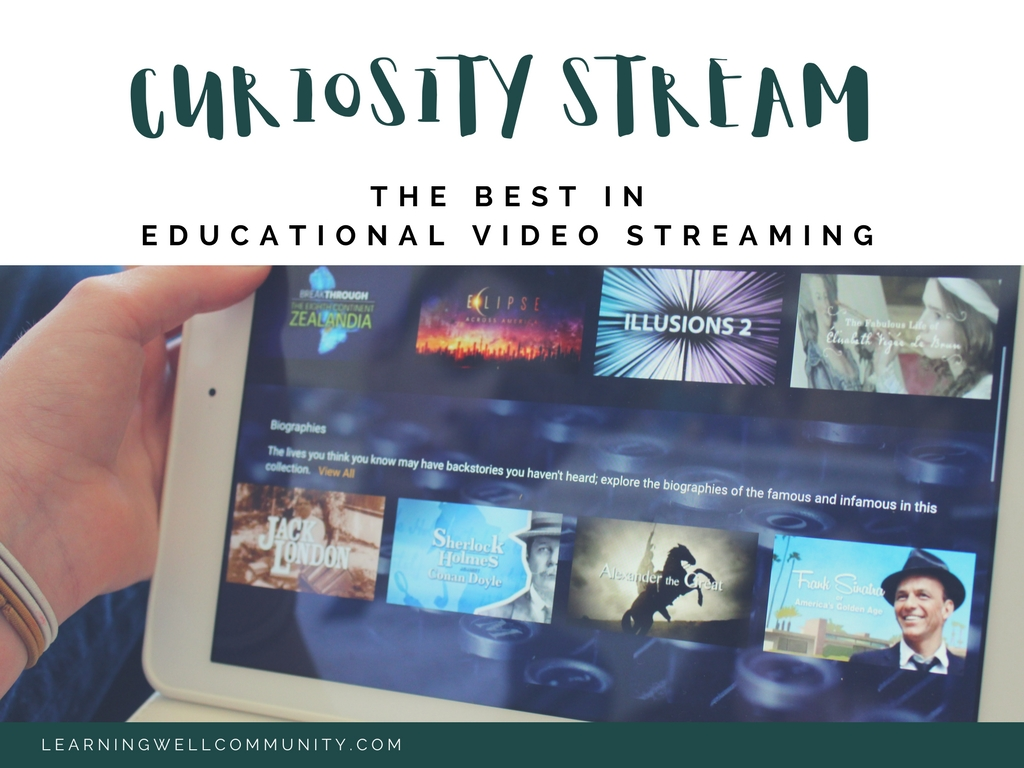 Curiosity Stream is my best tool for learning while watching TV. I know, I know...screens are bad, fresh air is good, but when it rains for days on end, the baby won't sleep, and mama's plate is overflowing, you're going to need back up. This post shows you how to get it!