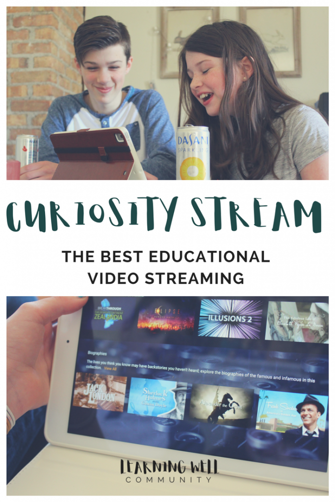 Did you know there's a digital streaming network JUST for documentaries? CuriosityStream is the best tool for sneaky learning!