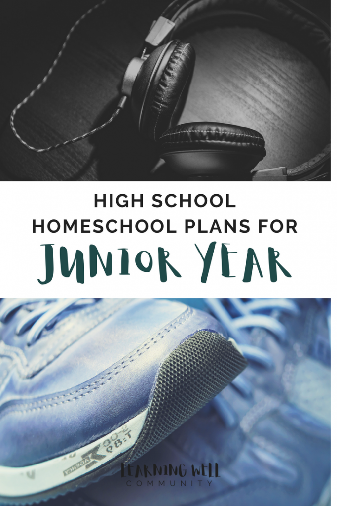 My son is a homeschool junior and we've been making some plans! Here's all our curriclum and class picks and our homeschool junior year plans.