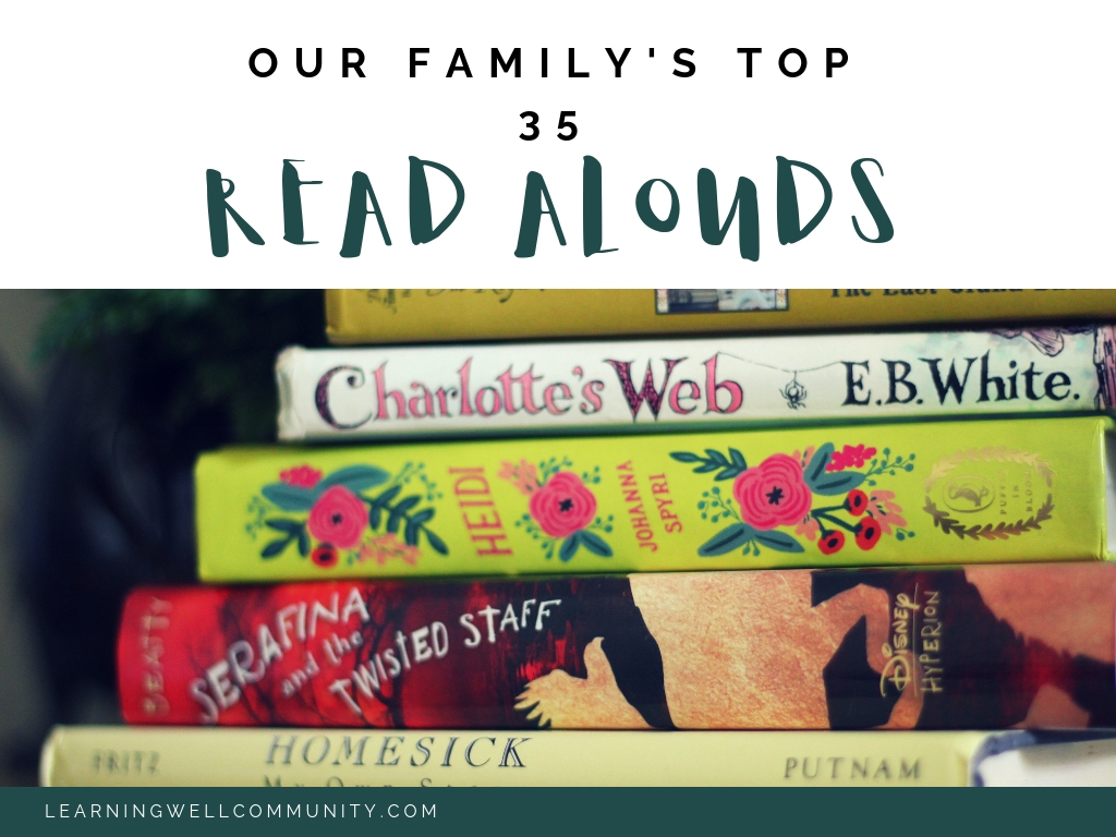 Our family's favorite read alouds