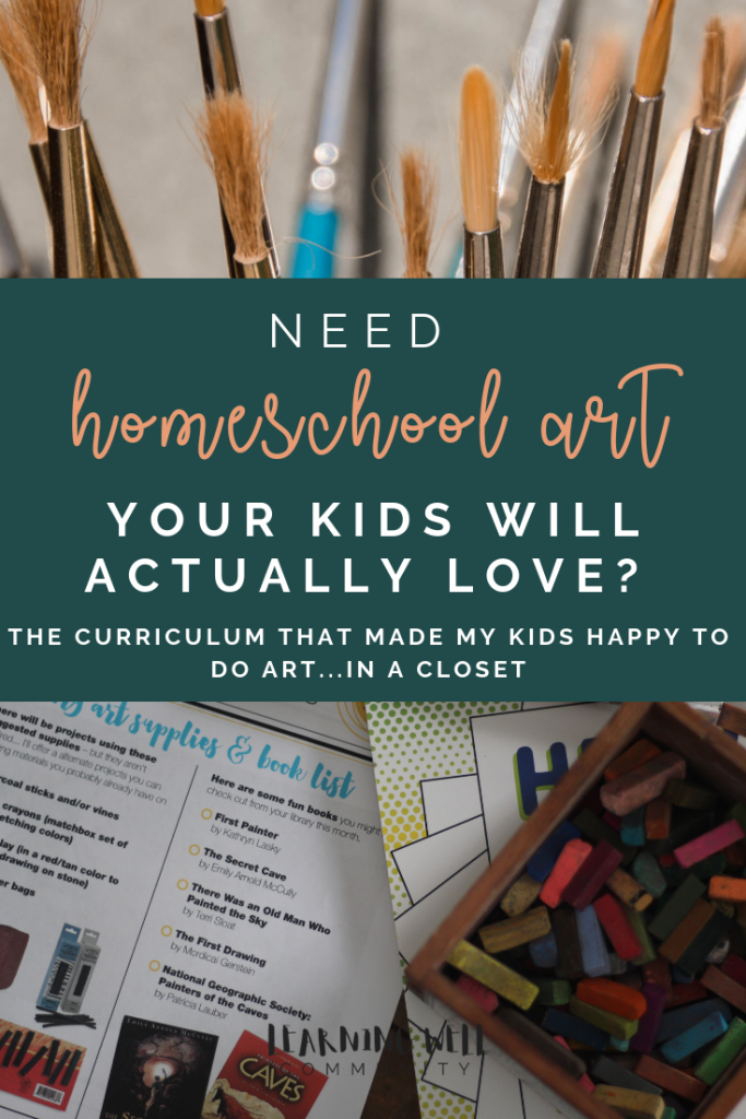 Is your homeschool art class feeling a little boring? This homeschool art curriculum will be loved by all and stretch across all the subjects!