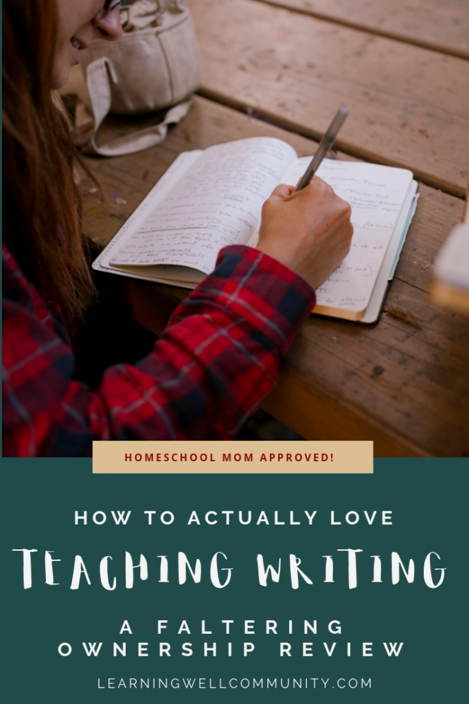 If writing is hard in your homeschool, this post is for you. This Faltering Ownership review dives deep into one of the best writing programs out there.