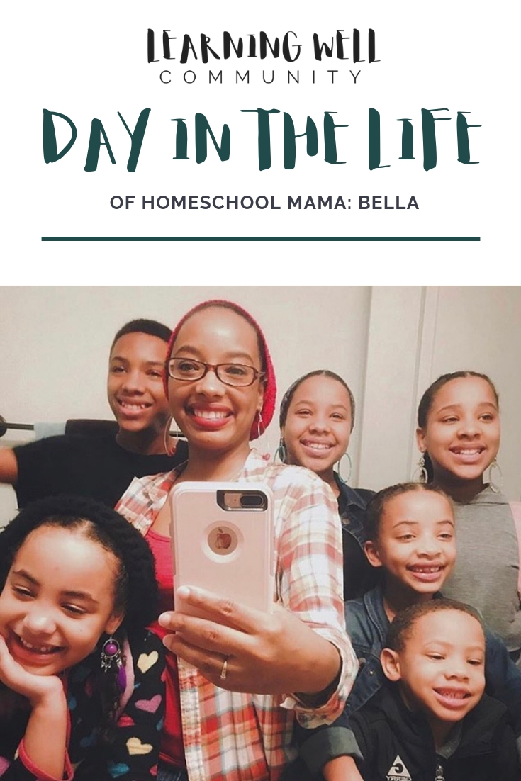 A Day in the Life of Homeschool Mama Bella