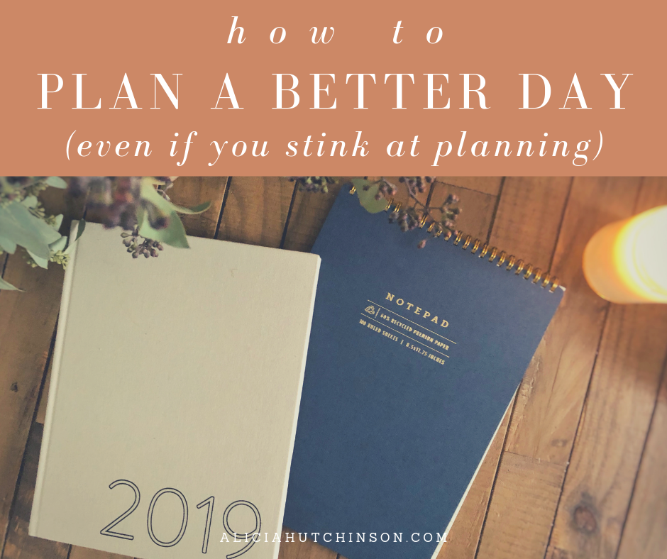 This episode is all about that--seeing how I plan our days. It's simple. Planning makes my days go smoother and it makes me feel more focused.