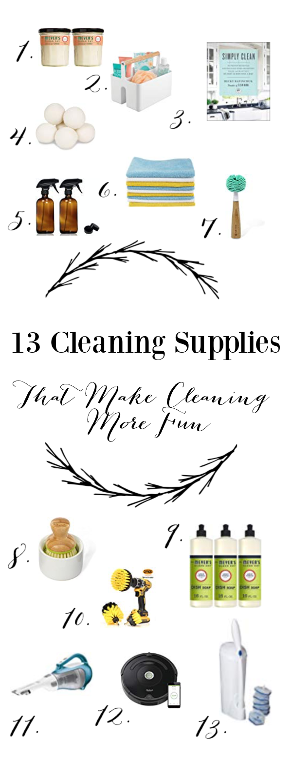 13 Helpful Cleaning Supplies That Make Cleaning More Fun