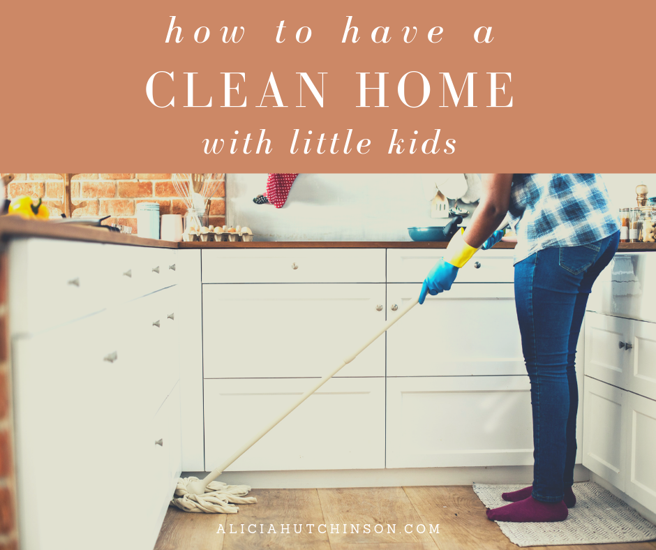 Having a clean home with little kids is not easy, but it can be done. This post with give you honest tips and unique ideas.