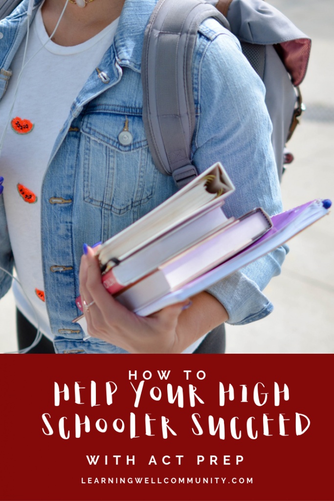 It's always a great idea for your high schooler to do an ACT Prep course and take the test. Here, I'll share a course that's making this so much easier!