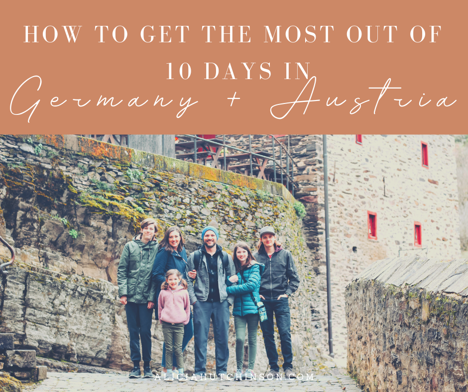Planning a 10 day Germany and Austria itinerary that includes kids? Here's one family's real itineary and how to see the most with least amount of hassle.
