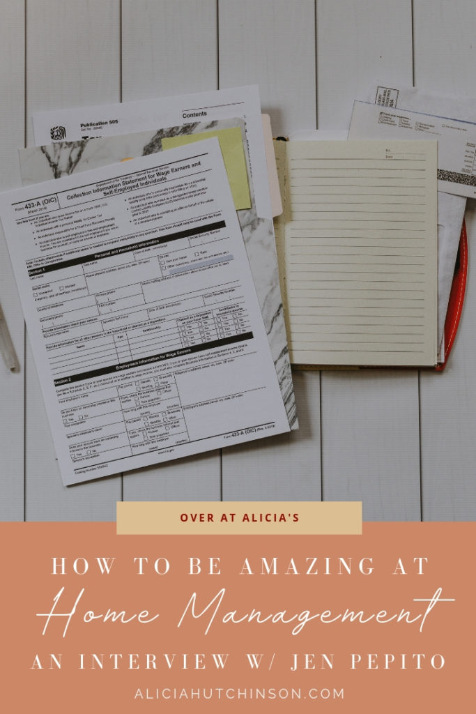How to be Amazing at Home Management