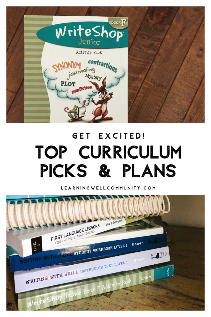 The school year is coming quick! Currently homeschooling grades 1, 6, 8 and 12. Here's my annual curriculum picks and plans list!