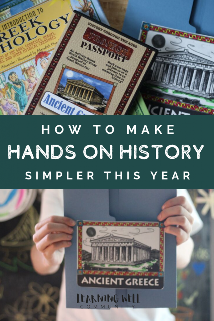 Hands on history doesn't have to be complicated. Pick curriculum that makes it easy for you! This Project Passport: Ancient Greece review will tell you how!